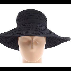 San Diego Hat company crushable ribbon black hat